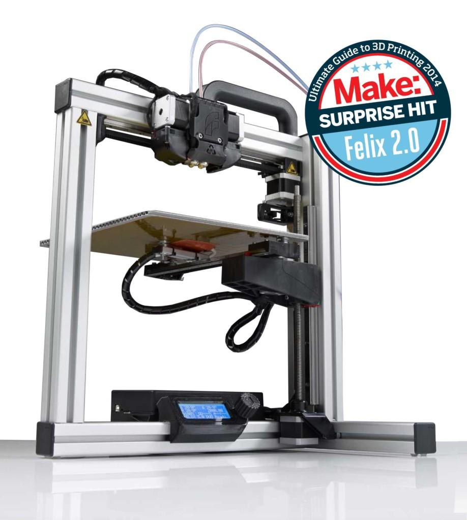 3D tiskárna Felix 3.0 Dual Extruder