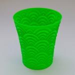 Ukázka vytisknutého 3D modelu - Kelímek
