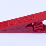 Ukázka vytisknutého 3D modelu - Kolík