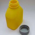 Ukázka vytisknutého 3D modelu - Láhev