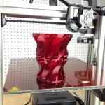 Ukázka vytisknutého 3D modelu - Váza